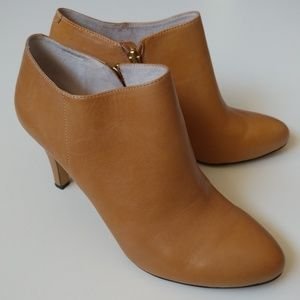 Vince Camuto Vive Bootie Ankle Boot Carmel Nappa